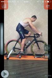 Настройка посадки на велосипеде после измерений, фото
