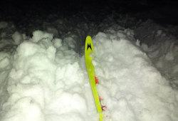 Первая лыжная тренировка 2013 в Норском