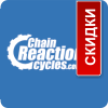 Логотип интернет-магазина Chain Reaction Cycles