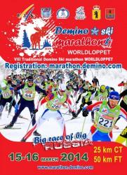 Афиша Деминского лыжного марафона 2014