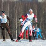 Фото Зимний гром 2014. Участники на дистанции.