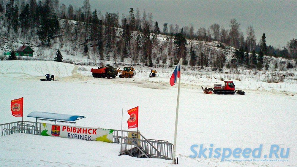 Фотография ЦЛС Демино и подготовка лыжной трассы