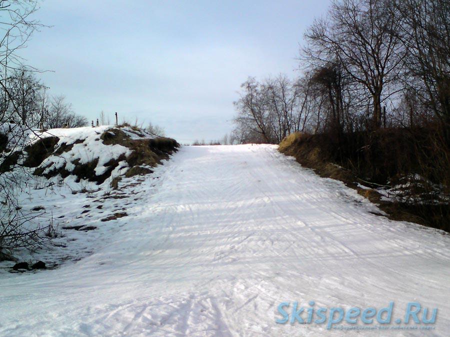 Фотография лыжной дистанции в пос. Норское