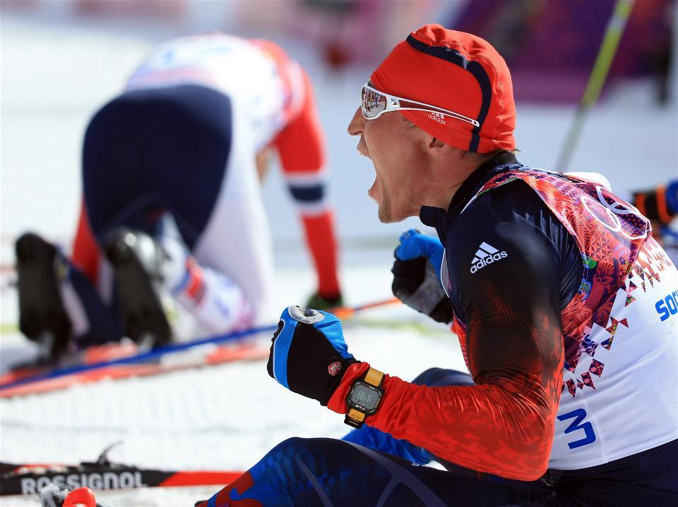 Олимпийских игр Сочи 2014 - лыжные гонки, марафон 50 км