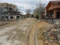 Фото улицы города Бяла, Болгария