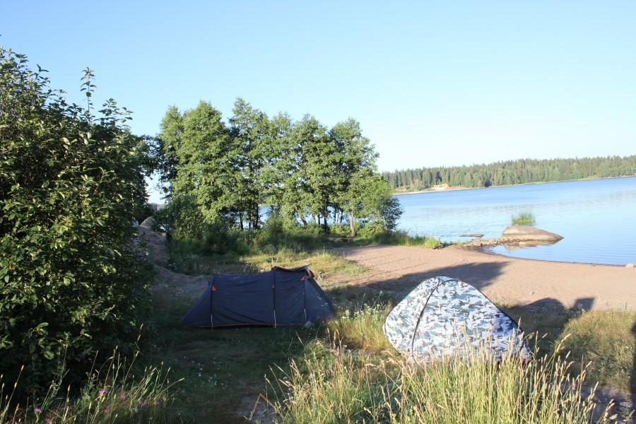 И наконец, последняя теплая ночь на берегу гостеприимного финского залива..