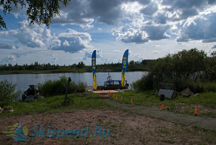 Палаточный лагерь на время проведения Чемпионата России по кросс-кантри триатлону