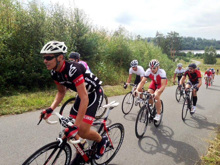 Шоссейная велогонка в Демино, 08.2014