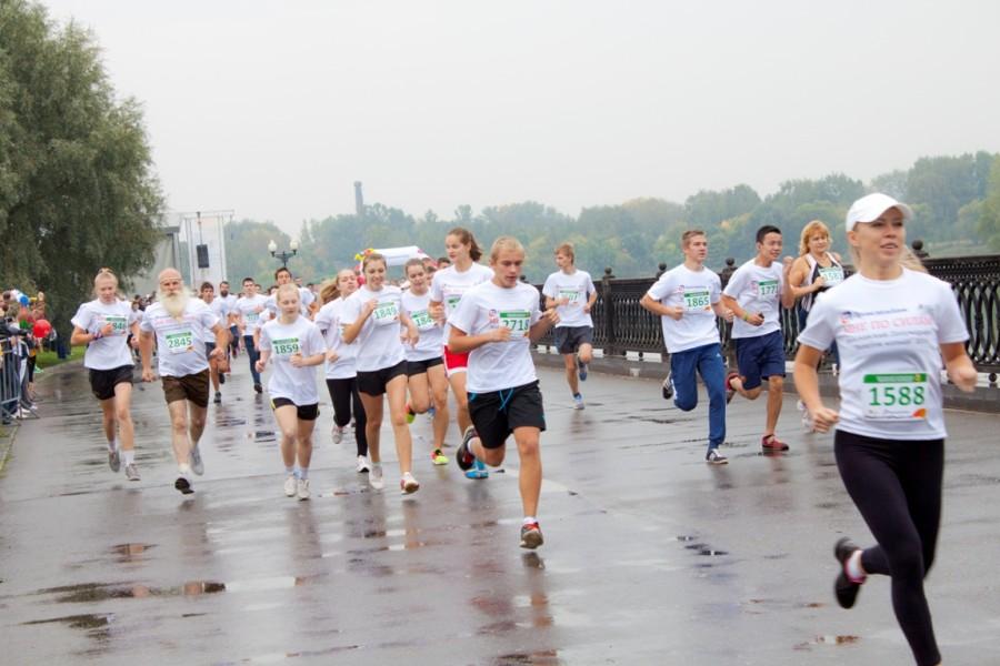 Участники забега на 3 км.