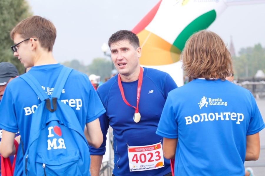 Саша Березин вначале держался рядом со Славиком на 1ч.50 мин., но почувствовав в себе силы и положительный отклик организма, убежал от группы вперед и отлично закончил дистанцию! Молодец!