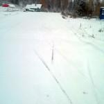 Фотография лыжной трассы в Демино 2014
