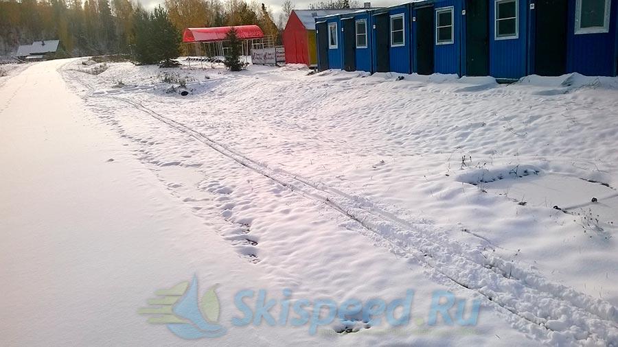 Фото первого снега в Демино, Рыбинск 2014