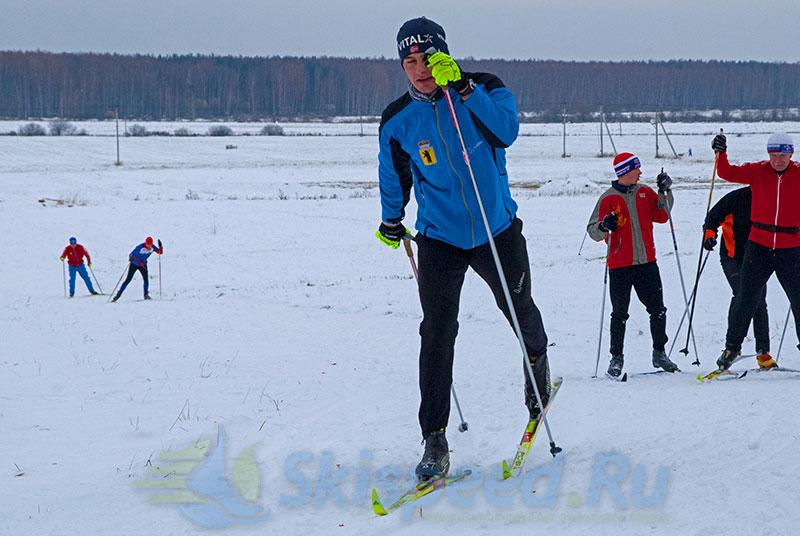 Фоторепортаж с лыжной тренировки 26 октября в Подолино