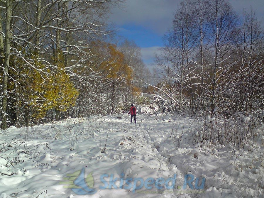 Я тренировался на лыжах в Норском, а вы?