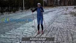 Фото с тренировки на лыжах в Норском 19.10.2014