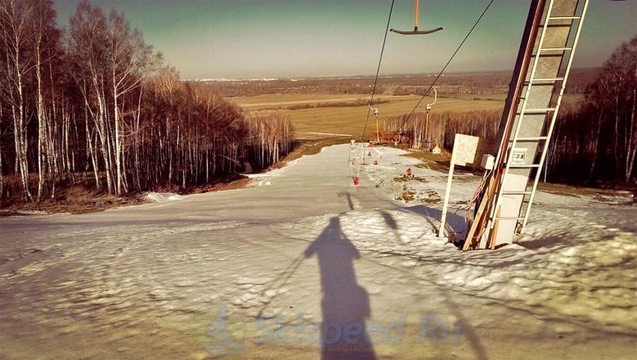 Снег пропал и лыжи в стойло!