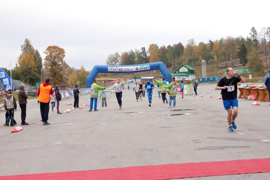 Дёминский беговой полумарафон 2014 - фото