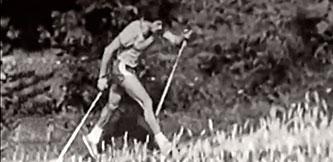 Фото - Тренировки лыжников в 80 годах
