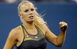 Датская теннисистка Каролина Возняцки приняла участие в Нью-Йоркском марафоне