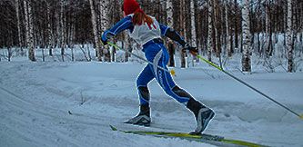 Фото - Лыжные гонки, детские