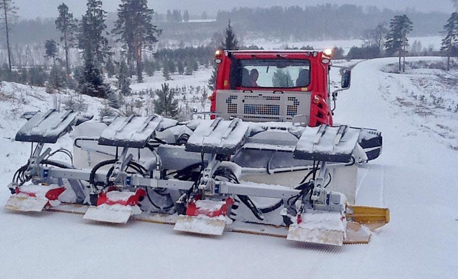 Фото. Деминская лыжная трасса, декабрь 2014
