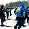 Видео с Лыжни России 2011