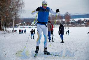 Фото - Тренировка лыжника в Подолино