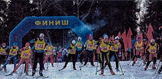 Лыжная гонка в Иваново памяти Д. А. Фурманова