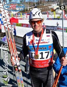 Старков Олег спортсмен СК Ski 76 Team г. Домодедово, Московская область. Фото