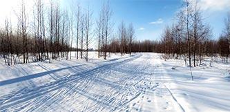 Фото - Лыжная трасса в Волгореченске, Костромская область