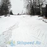Фото - Лыжная трасса в марте 2015. Дёмино, Рыбинский район