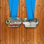 Фото - Медаль на 10 км. Переславского полумарафона 2015