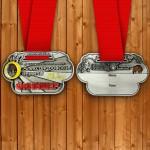Фото - Медаль на 21,1 км. Переславского полумарафона 2015