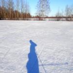 Фото - Лыжная трасса 26 марта 2015 в Нерехте