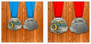 Фото - Медали Угличского полумарафона 2015