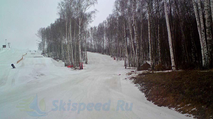 Фото - Лыжный спринт в гору, Подолино Ярослаль