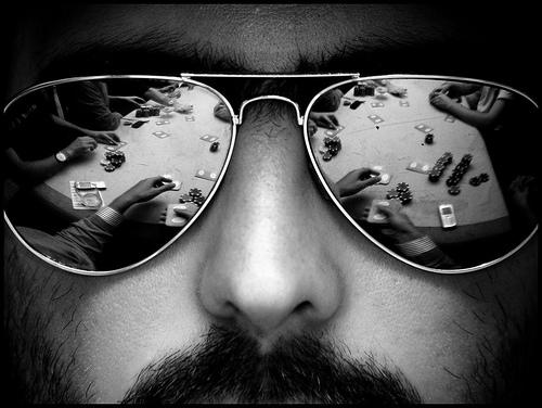Человек в очках