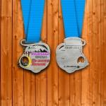 Фото - Медаль на 7 км. с Мышкинского марафона 2015