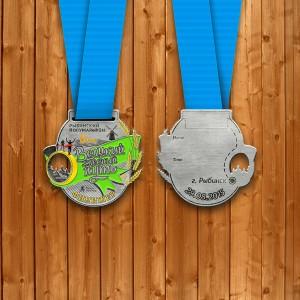 Фото - Медаль на 10 км. с Рыбинского марафона