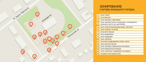 Схема Стартово-финишного городка. Мышкинский полумарафон 2015