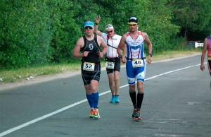 Фото - Чумаков Сергей и Тимофеев Дмитрий, SKI 76 TEAM - Триатлон в Беларуссии 2015