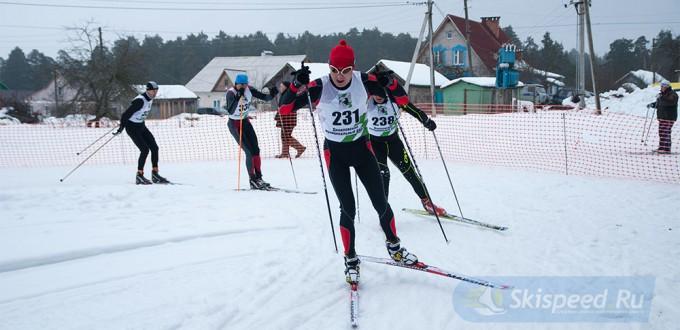 Фото Гарцева Евгения - лыжная гонка в Данилове