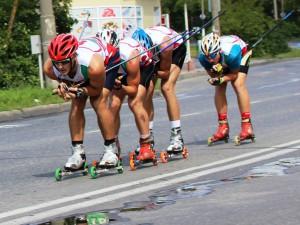 Фото - Ярославские спортсмены призёры Чемпионата России по скоростным лыжероллерам 2015