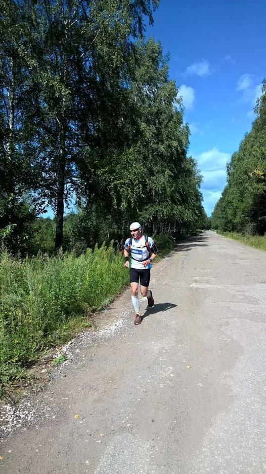 Тяжесть бега у Андрея Новикова