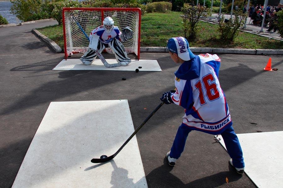 Фото - Занятия хоккеем в спортивных школах Рыбинска