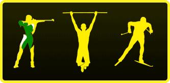 Логотип - Полиатлон зимний, картинка