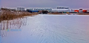 Фото зимой 2016 - Карьеры за Альтаиром в Брагино, Ярославль