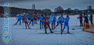 Фото - Лыжни России 2016. Старт на 10 км.