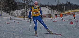 Фото - Лыжные гонки среди детей в Демино