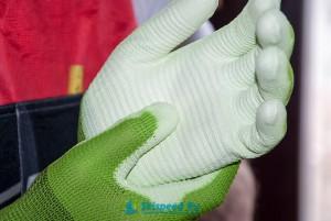 Фото - Cервисные перчатки Elementa для подготовки лыж, сноубордов